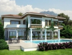 Exclusive villa with amazing sea view in Northern Cyprus